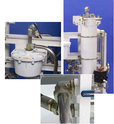 Clean Fuel System - diesel fuel polishing